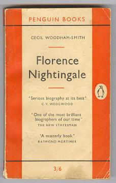WOODHAM-SMITH, CECIL, - FLORENCE NIGHTINGALE 1820-1910.