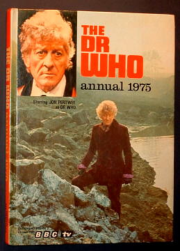 ANON., - THE DR WHO ANNUAL 1975.