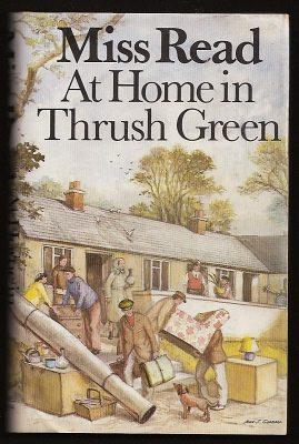 MISS READ (DORA SAINT) (ILL. J. S. GOODALL), - AT HOME IN THRUSH GREEN.