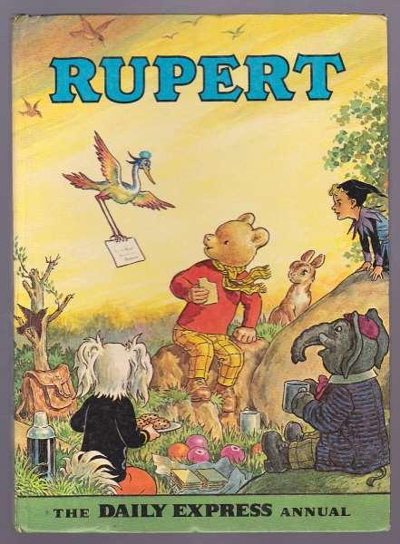 BESTALL, ALFRED, - RUPERT [Annual, 1972].