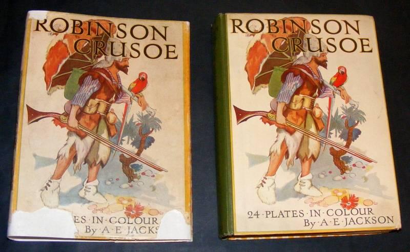 DEFOE, DANIEL, - THE ADVENTURES OF ROBINSON CRUSOE.