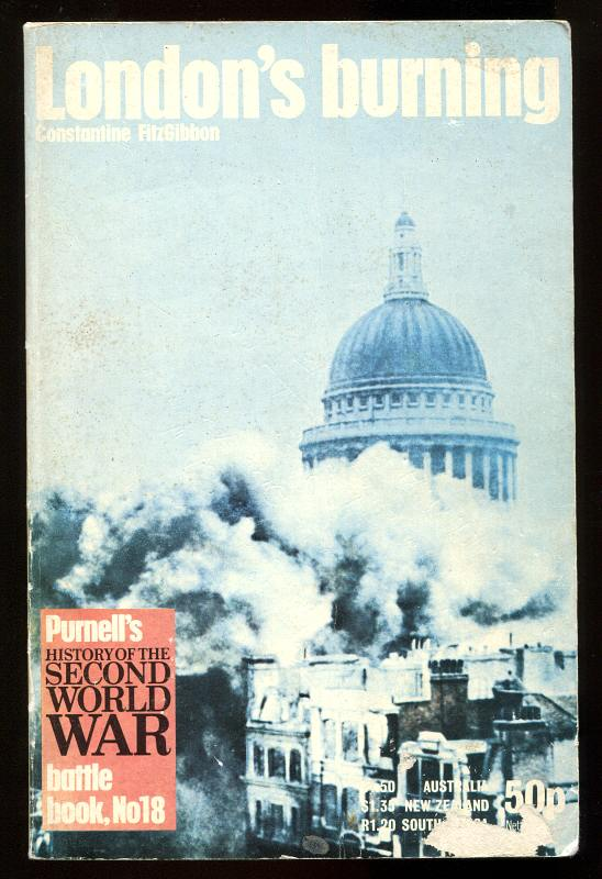 FITZGIBBON, CONSTANTINE, - LONDON'S BURNING.