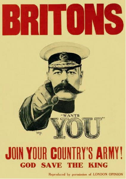 Kitchener recruiting poster