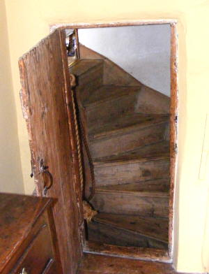 A winding stair