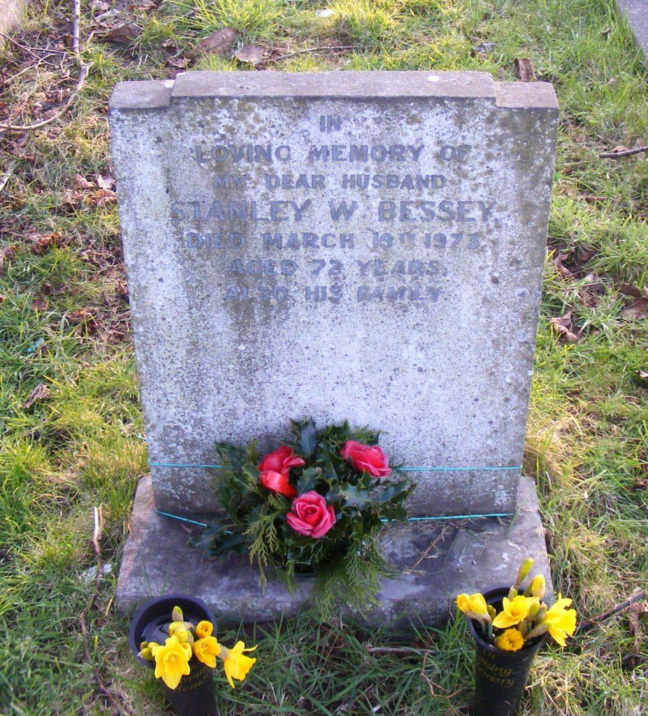 Stanley W. Bessey headstone